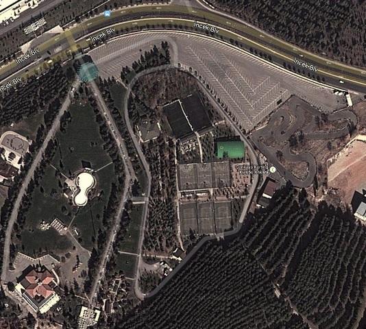 Ahlatlıbel Atatürk Parkı - Açık Otoparkı